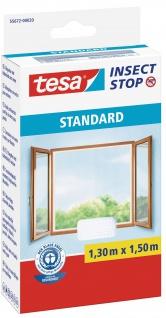 Fliegengitter Standard für Fenster 1, 30 m x 1, 50 m Weiß