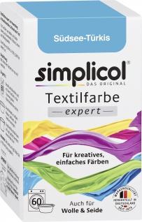Simplicol Textilfarbe Südsee Türkis