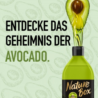 NATURE BOX Reparatur Maske Avocado 200 ml