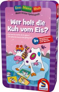 Schmidt Spiele 51292 Ene Mene Muh Spiel M-Wer holt die Kuh vom Eis?