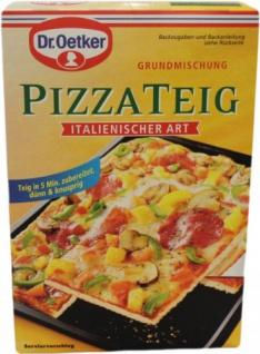 Dr Oetker Teigmischung Pizzateig Backmischung Italienischer Art 320g