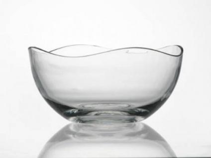 Ritzenhoff und Breker Glas Müslischale Wave Kreisförmig 26cm - Vorschau