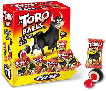 Bubble Gum El Toro Kaugummi Balls extra sour Display 200 Stück