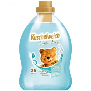 Kuschelweich Premium Weichspüler Finesse mit Argan Öl 26 WL 750ml