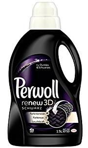 Perwoll ReNew Schwarz Effekt mit bis zu 20 Waschladungen im 4er Pack