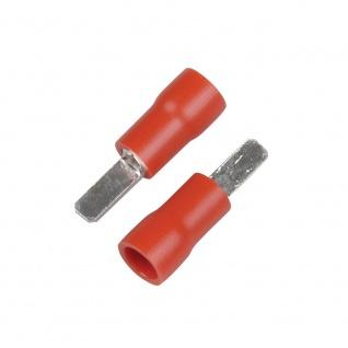 Kfz Flachsteckzungen 2, 8mm rot
