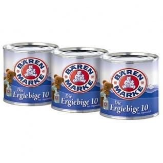 Bärenmarke Die Ergiebige 10 Fettgehalt Kondensmilch 170g 3er Pack