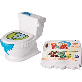 Amigo Spin Master Flush Force mit 2 versteckten Figuren in 1 Toilette
