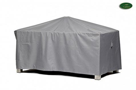 Schutzhülle Gartentisch rechteckig Polyester lichtgrau 200x160cm
