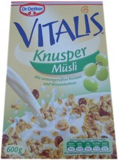 Dr. Oetker - Vitalis Knusper Müsli
