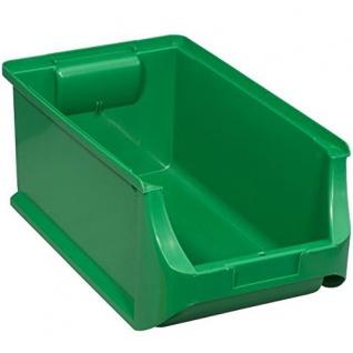 Allit 456215 Sichtbox Größe 4 355 x 205 x 150 mm in grün