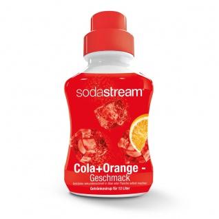 SodaStream Konzentrat Cola und Orange Geschmack Getränkesirup 500ml