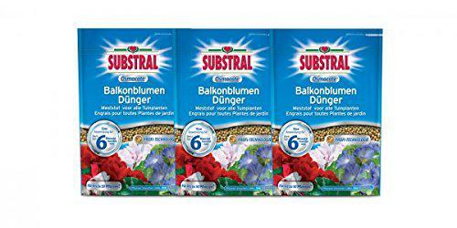 Substral Osmocote Balkonblumen-Dünger 3 x 1, 5kg
