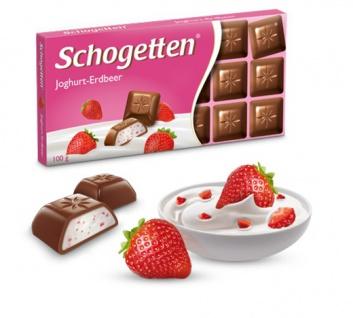 Trumpf Schogetten Joghurt-Erdbeer Naschen für zwischendurch 100g