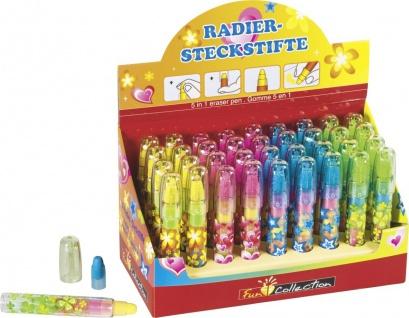 Radierstift 5-farbig
