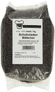 Huber-Klle Schokoblättchen 1 kg, 1er Pack (1 x 1 kg)
