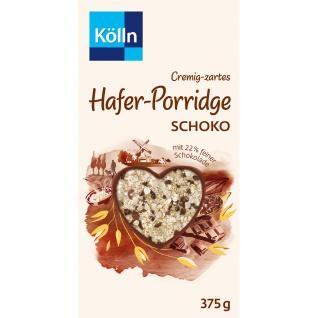 Kölln Cremig zartes Hafer Porridge Schoko mit feiner Schkolade 375g