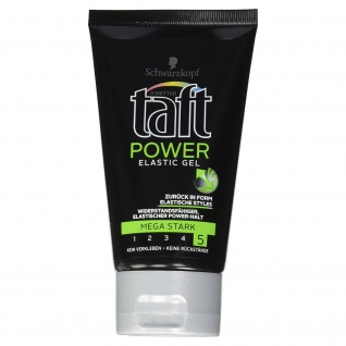 3 Wetter Taft Gel Power Elastic mega starker Halt 5 für optimales Styling 150 ml