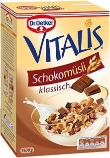 Dr. Oetker Vitalis Großpackung Schoko Müsli 4er Pack
