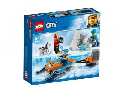 Lego City 60191 Arktis-Expeditionsteam Leite eine Arktis-Expedition