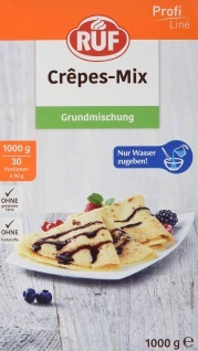 RUF Crepes Mix Backmischung mit Zimt und Zucker genießen 1000g