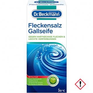 Dr. Beckmann Fleckensalz Gallseife Fleckenentfernung 500g 3er Pack