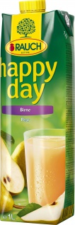 Rauch Happy Day Birnenfruchtsaft Birnennektar mit Birnenmark 1000ml