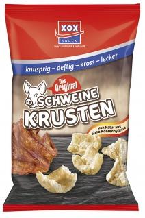 XOX Schweinekrusten im Eigenfett frittierte Schweineschwarten 100g