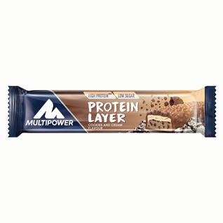 Multipower Protein Layer Riegel Cookies & Cream mega crispy 50g 18er Pack
