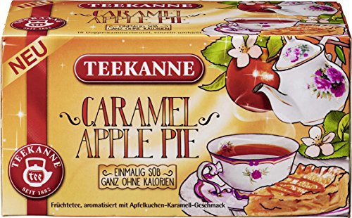 Teekanne Caramel Apple Pie einmalig süß ganz ohne Kalorien 41g