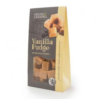 Fudge Vanilla feinstes Weichkaramell mit Bourbon Vanille 120g