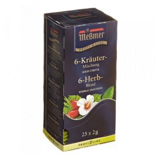 Meßmer Kräutertee 6 Kräuter Mischung wohlschmeckend 12er Pack