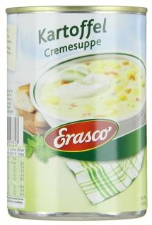 Erasco Kartoffel Cremesuppemit Sahne verfeinert 390ml 3er Pack