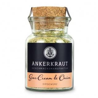 Ankerkraut Sour Cream and Onion Gewürzmischung im Korkenglas 90g