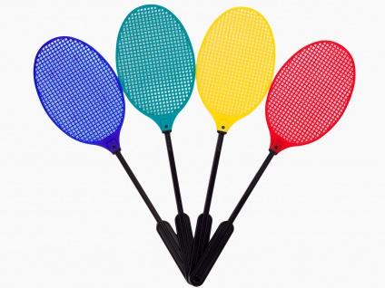 Heckmann Fliegenklatsche im Tennisschläger Design in vier Farben