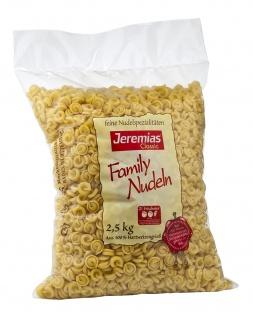 Jeremias Classic Schneckli Family Nudeln mit frischen Eiern 2500g