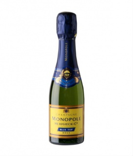 Champagner Heidsieck Brut Blue Top Goldmedaille Mundus Vini 200ml