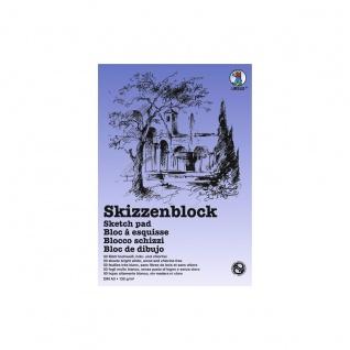 Ursus Skizzenblock 120g qm weiß DIN A3 Zeichenblock gute Papierstärke