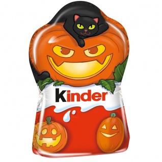 Ferrero kinder Schokolade Hohlfigur mit spooky Halloweendesign 35g