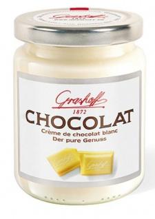 Grashoff Weiße Schokoladencreme Pur belgische Schokolade 250g 3er Pack