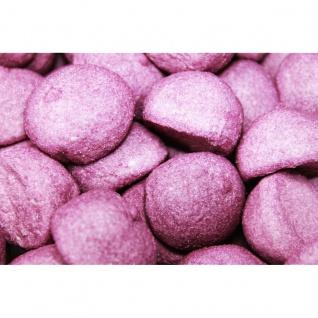 Mellow Speckbälle lila große gezuckerte Schaumzuckerbälle 1000g