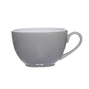 Ritzenhoff und Breker Doppio grau weiß kombinierte Kaffee Obertasse