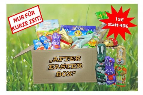 Schokoladen AFTER EASTER BOX eine Mischung aus Osterleckereien