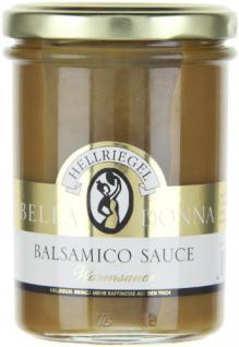 Hellriegel Bella Donna Balsamico Sauce, 12er Pack (12 x 180 g)