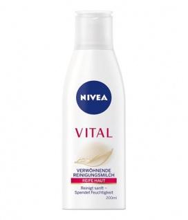 Nivea Visage Vital Verwöhnende Reinigungsmilch für die Gesichtsreinigung 200ml