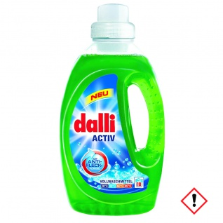 Dalli Activ Flüssig Vollwaschmittel 18WL Sehr ergiebig 1350ml 3er Pack