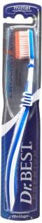 Dr. BEST Zwischenzahn Zahnbürste, Mittel (6 x 1 Stück), Für eine gründliche Reinigung der Zahnzwischenräume mit Spezialborsten