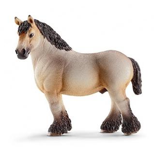 Schleich 13778 - Ardenner Hengst, Tier Spielfigur