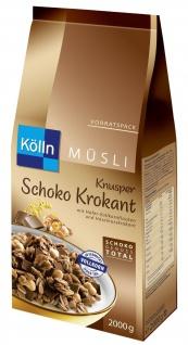 Kölln Knusper Müsli Schoko/Krokant 1, 7kg