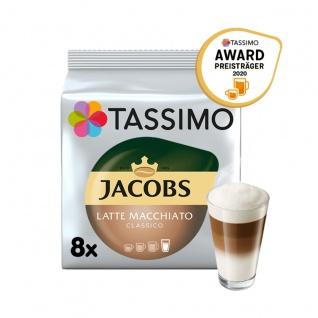 Tassimo Jacobs Typ Latte Macchiato Classico für 8 Getränke 264g